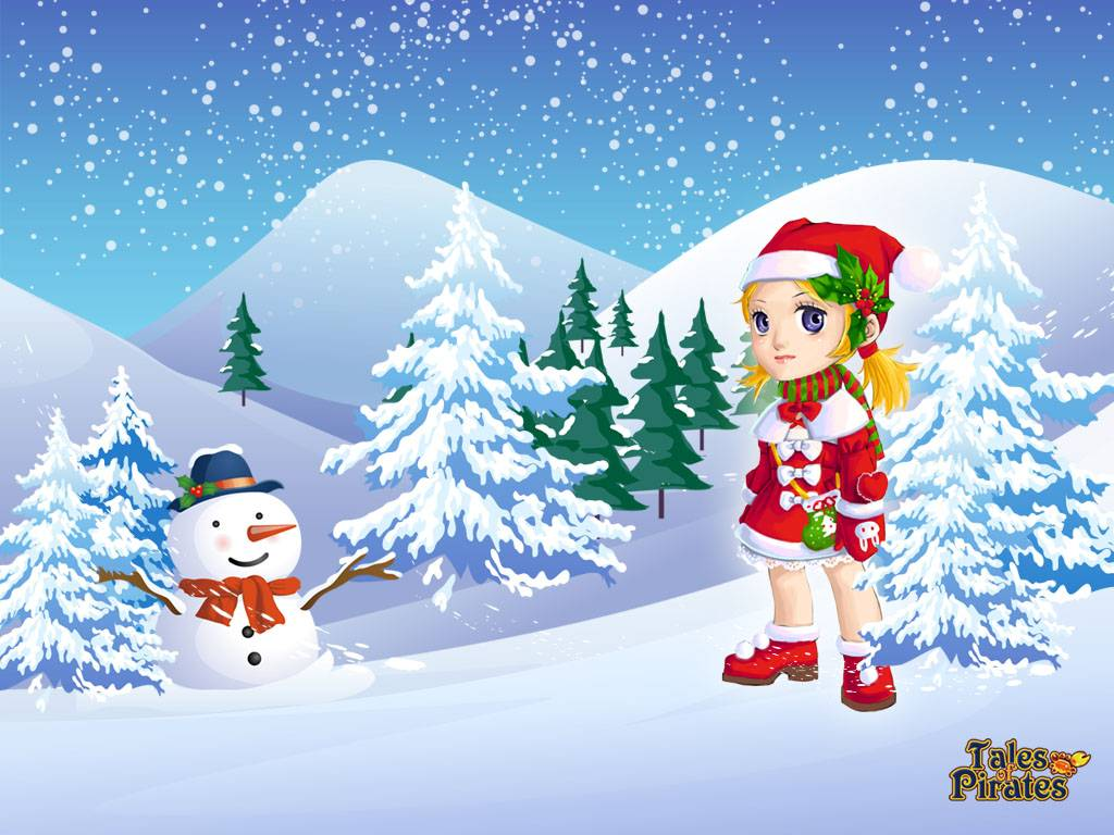 Fondos Navidad Animados: Tales Of Pirates: Christmas Wallpapers