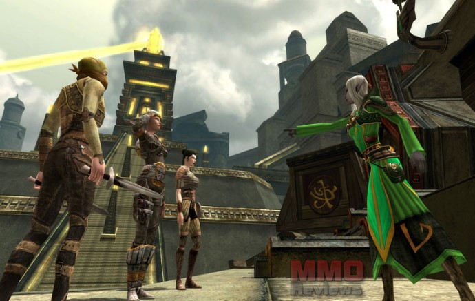 Dungeons and Dragons Online screenshot