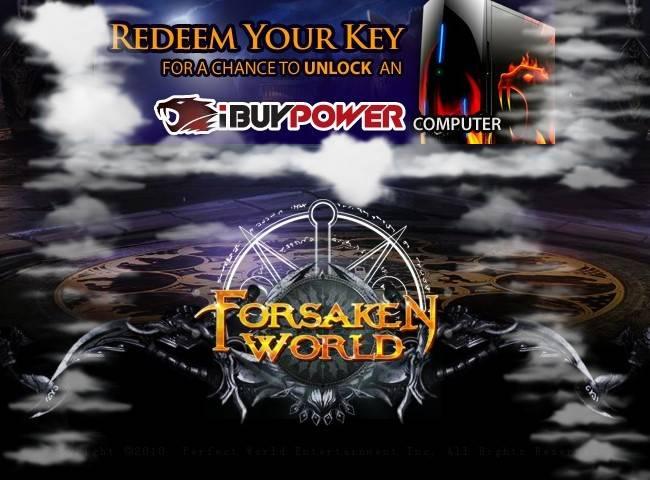 forsaken world promo code