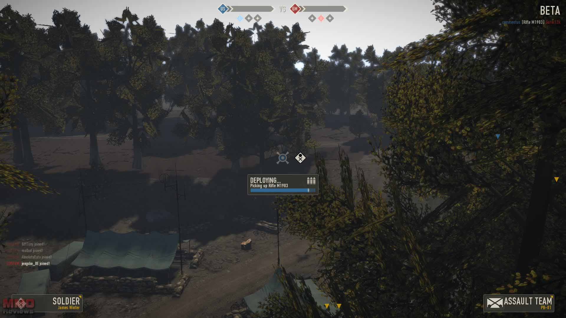 heroes and generals how to change class