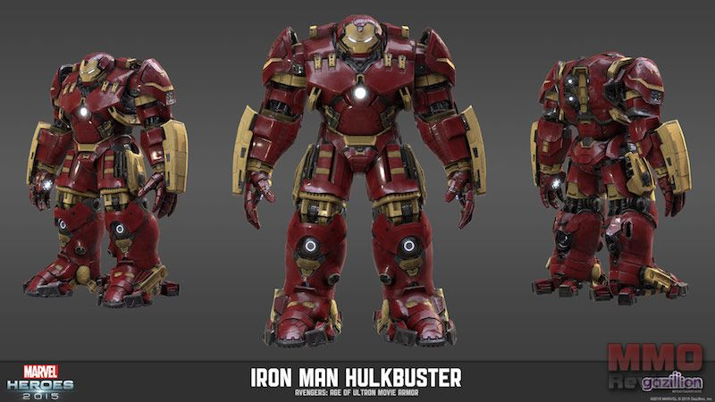 Age of Ultron Meets Marvel Heroes 2015