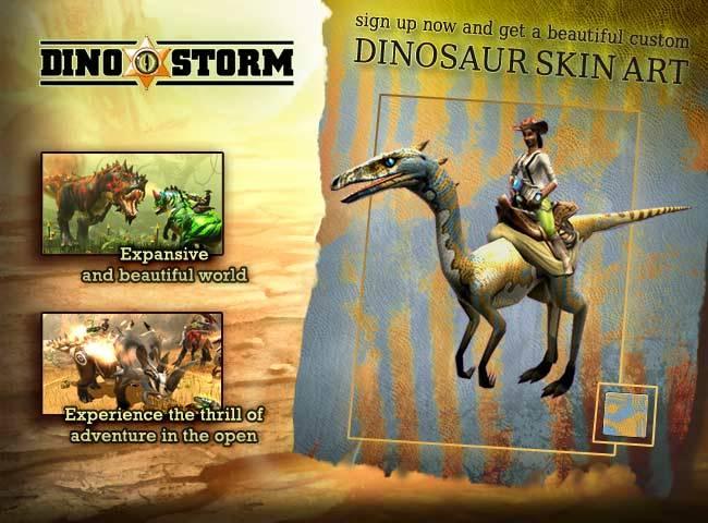 Dino Storm exclusive giveaway