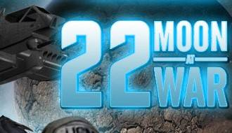 22 moon at war logo