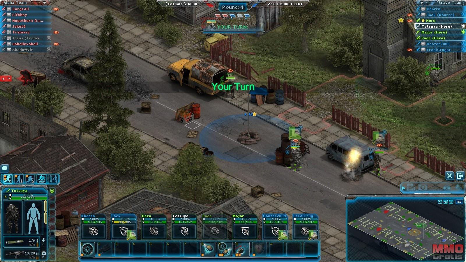 Imagenes de Affected Zone Tactics