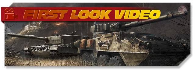 Armored Warfare - First Look headlogo - EN