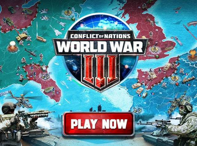 Conflict of Nations World War 3 Free-to-Play Strategy MMO