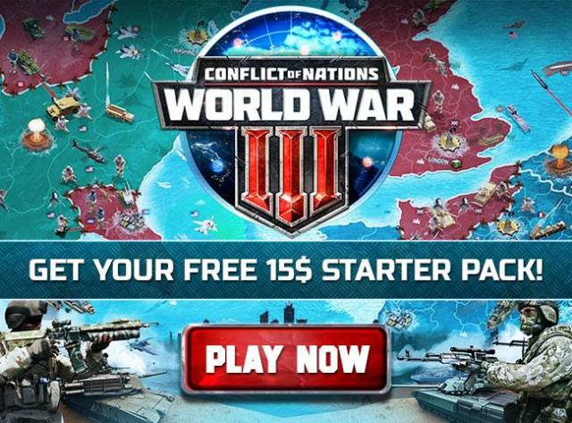 Free Items for New Users of Conflict of Nations