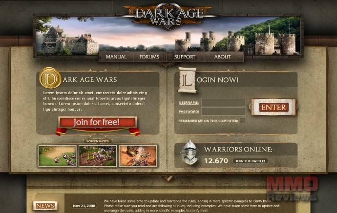 Imagenes de Dark Age Wars