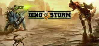 DinoStorm logo