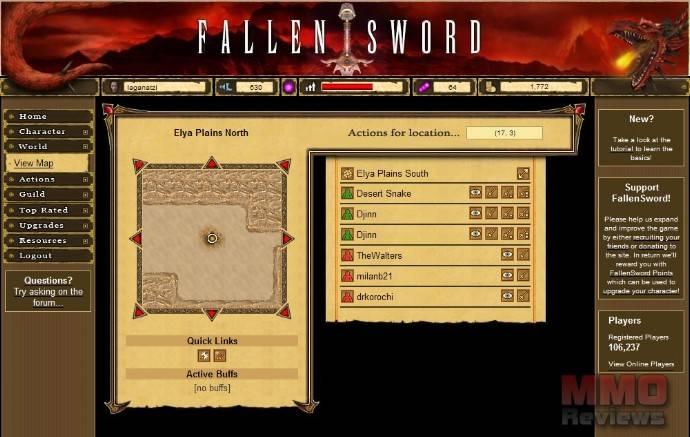 Imagenes de Fallen Sword
