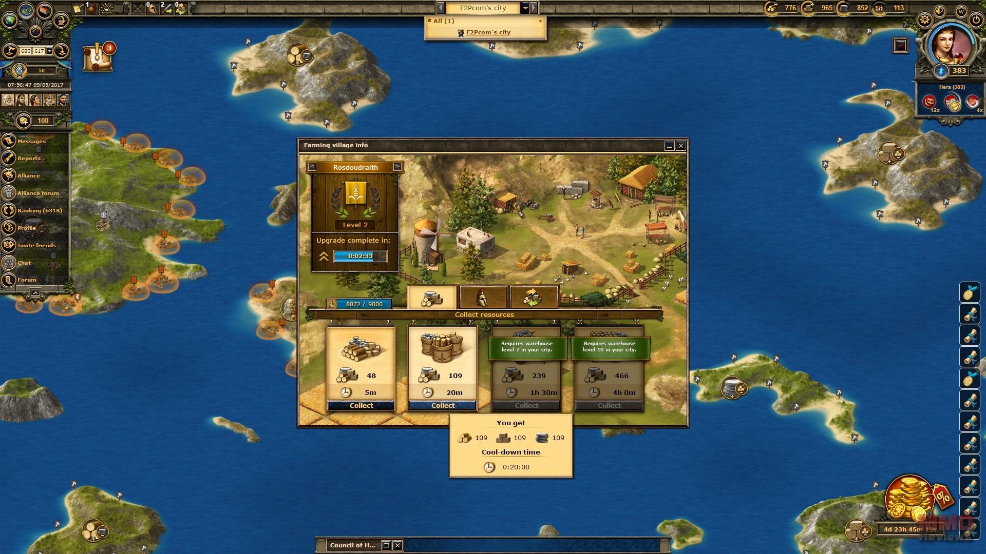 Grepolis Review Reviews Grepolis Review MMORPG Grepolis Review - Grepolis us maps