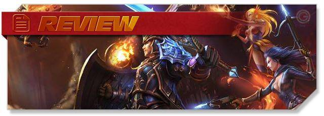 Heroes Evolved - Review headlogo - EN