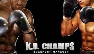 K.O. Champs logo