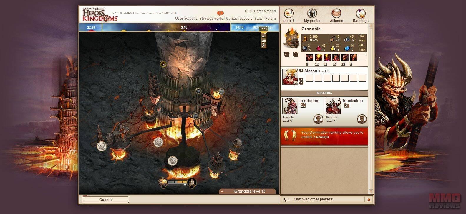 Imagenes de Might and Magic: Heroes Kingdoms