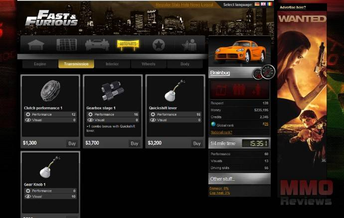 Imagenes de The Fast and the Furious: fan immersion game
