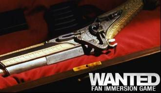 Wanted: Fan immersion game logo