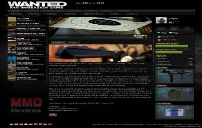 Imagenes de Wanted: Fan immersion game