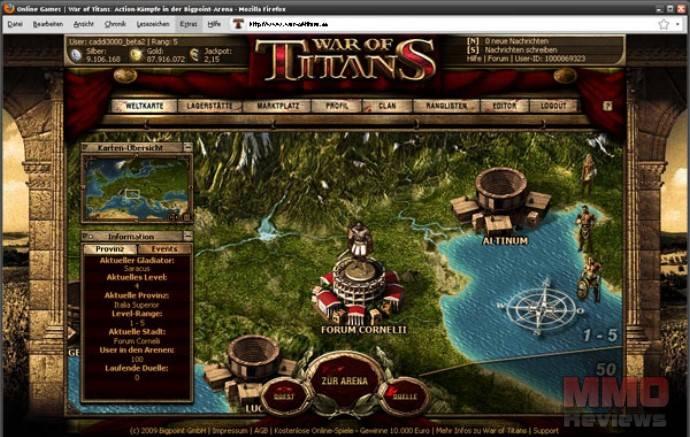 Imagenes de War of Titans