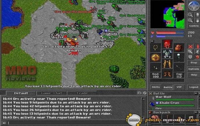 Tibia Reviews Tibia Mmorpg Tibia Game Review