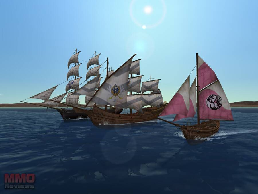 Uncharted Water Trade Ships